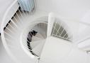 Sammenlægning af lejligheder, lækker trappe løsning