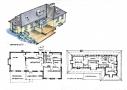 Skitse for at skabe moderne komfort uden at gå på kompromis med arkitekturen.