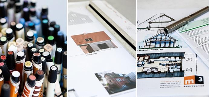 Skitsefasen: Skitsen er byggeprojektets første skridt