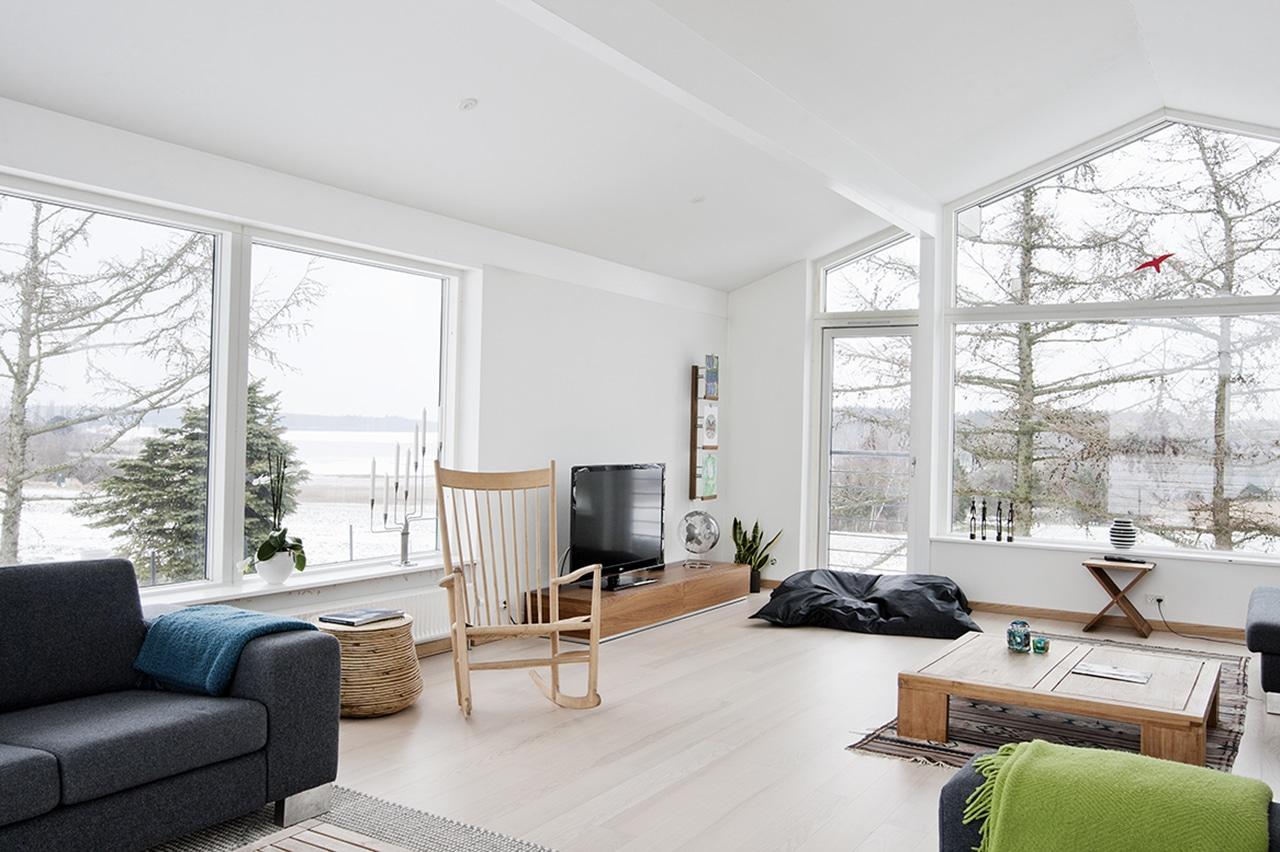 360 graders udsigt fra stuen