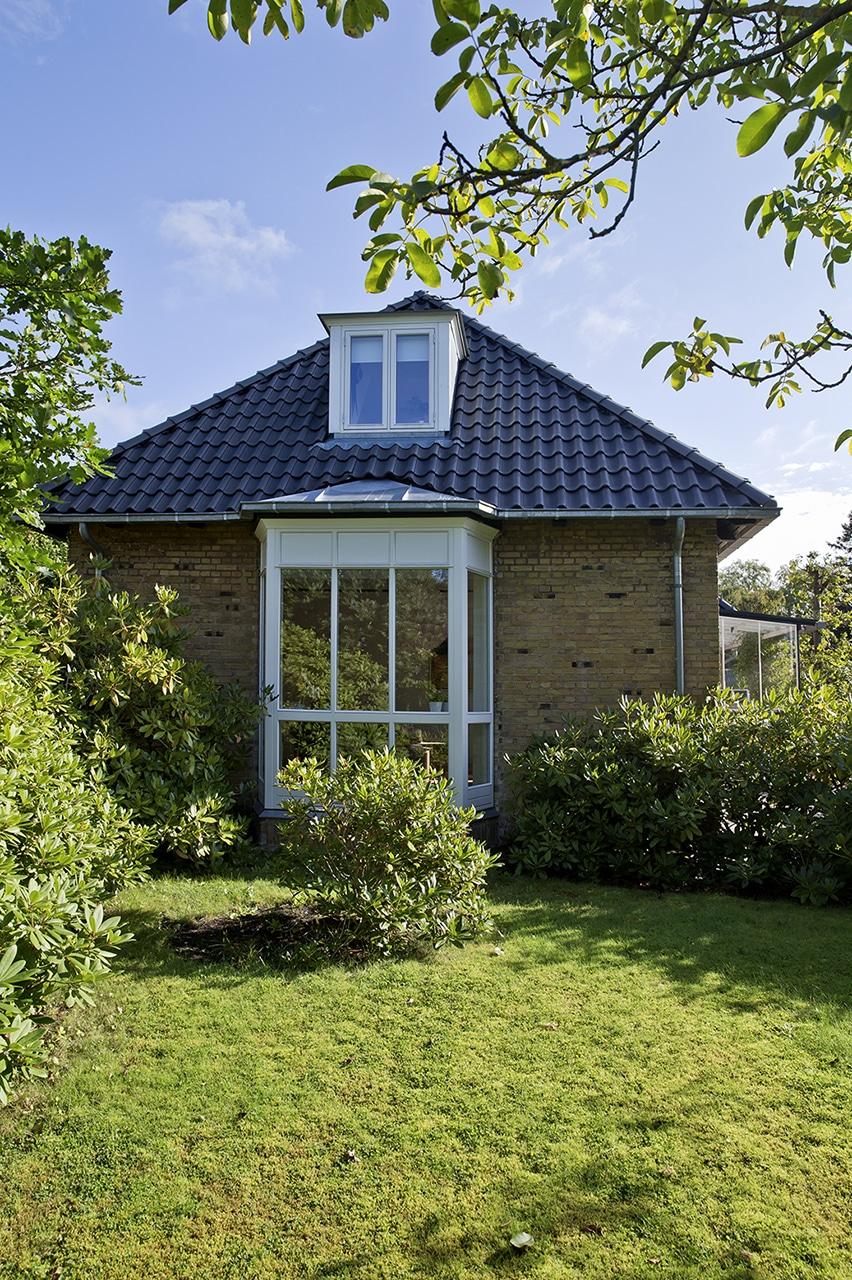 Den stilfulde karnap sikre stil og den moderne komfort uden at gå på kompromis med arkitekturen.