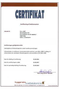m4 Arkitekter er certificeret og kan udføre alle typer tilstandsrapporter.