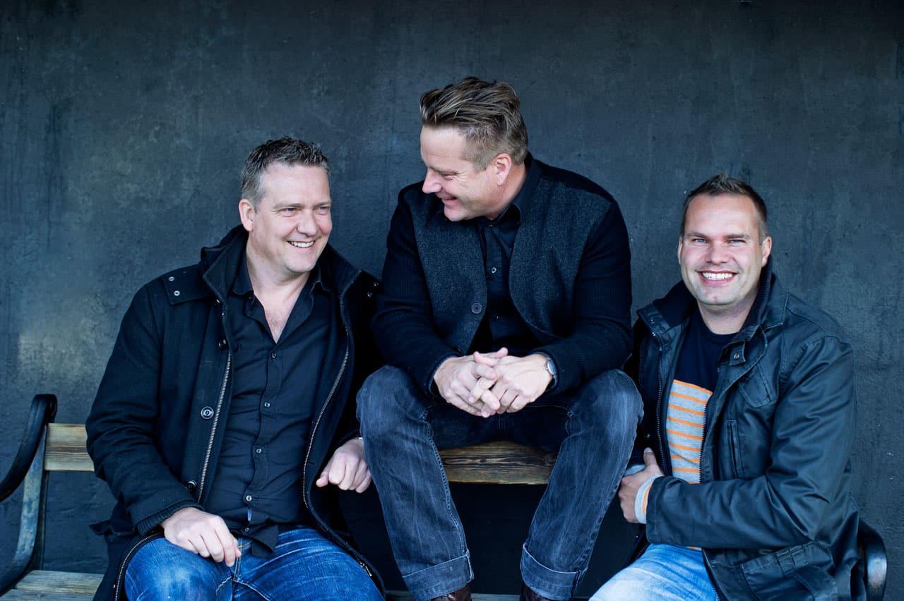 Velkommen til m4 Arkitekter, fra Morten Dalsgaard, Jesper Stensen og Thomas Hjort.