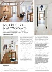 Artikel fra boligmagasinet Tends Bolig. Thomas Hjort forvandler baggårdslejlighed til lyst New Yorker-loft.