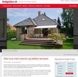 m4 Arkitekter på boligsiden.dk - Indgangsparti med trappe til 1. sal.