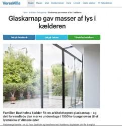 m4 Arkitekter på voresvilla.dk - Kælder med glasadskillelse.