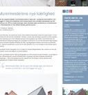 m4 Arkitekter på dbark.dk - Tilbygning med originale detaljer.