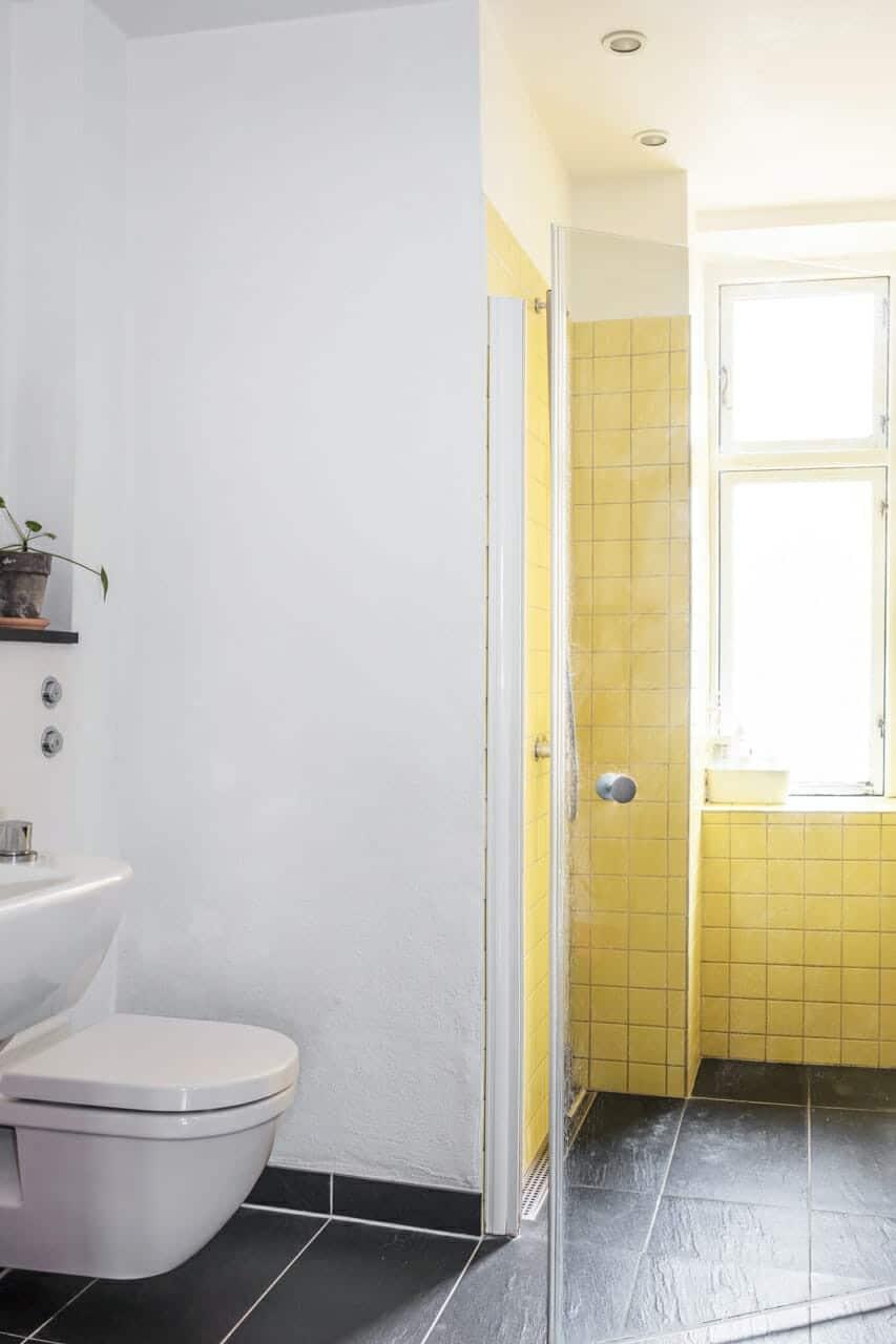 Badeværelse i lejligheden