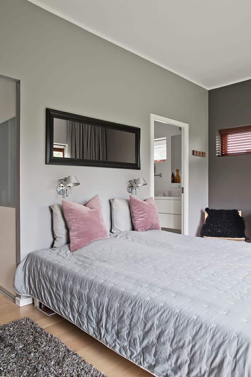 1960'er-hus fik separat forældreafdeling, master bedroom