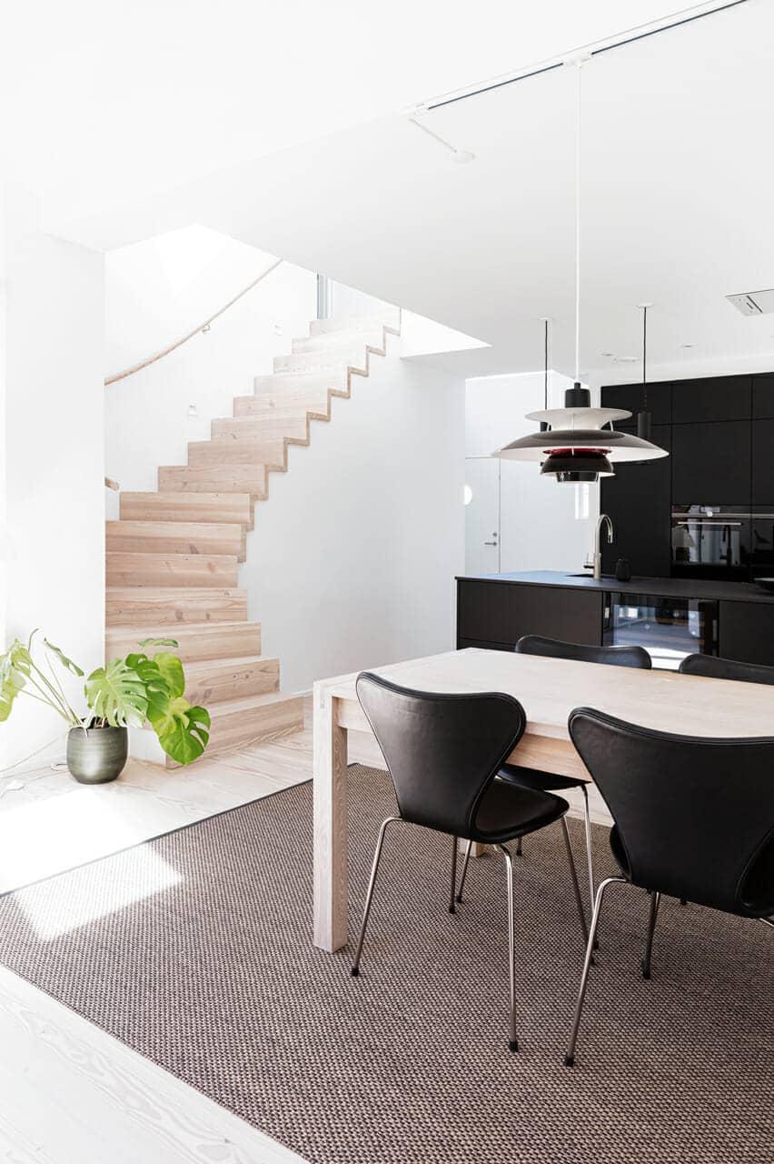 Ombygget villa med de bedste materialer