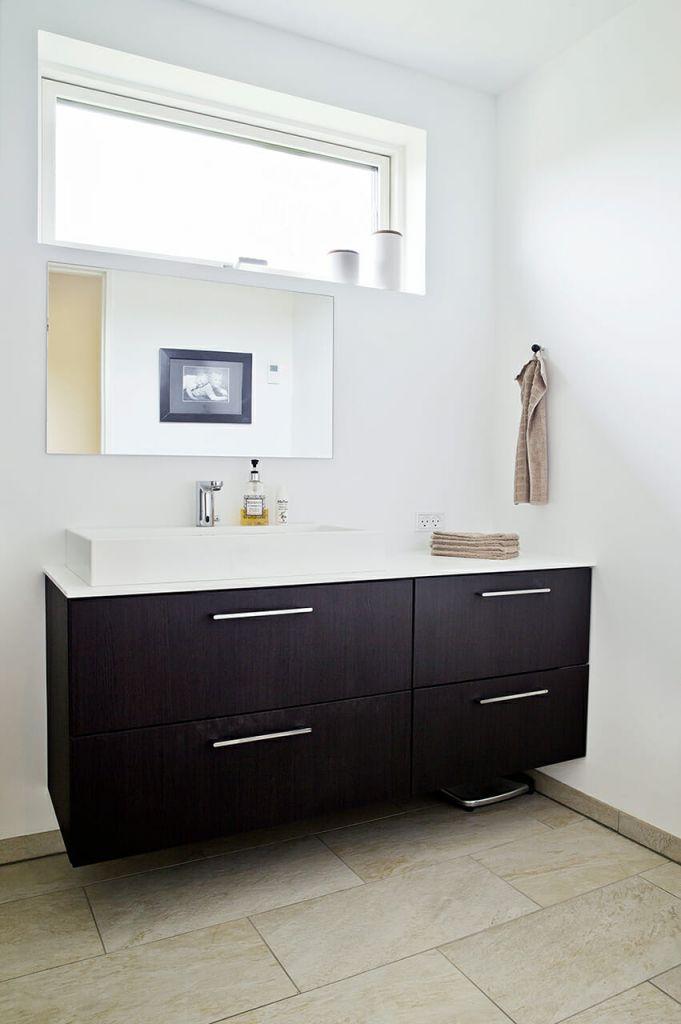 Nyt badeværelse med masser af dagslys