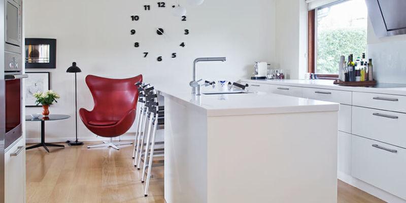 1960'er-hus fik nyt køkkenalrum